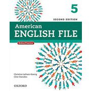 American English File 2nd Edition Level 5 Student Book with Oxford Online Skills [洋書ELT]
