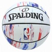 84-312J [NBA ロゴ マーブル ホワイト 6号球]