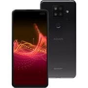 AQUOS sense4 plus ブラック SH-M16B [6.7インチ/RAM 8GB/ROM 128GB/Android 10.0/SIMフリースマートフォン]