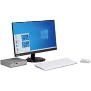 JPMINI502 [IdeaCentre Mini550i 23.8型液晶ディスプレイセットモデル/Core i5-10400T/SSD 256GB (PCIe NVMe/M.2)/メモリ 8GB/Windows 10 Home 64bit (日本語版)/Microsoft Office Home & Business 2019/ミネラルグレー]