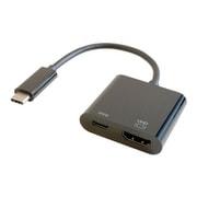 GP-CHDH/B [Type-C HDMI変換アダプター(PD充電 対応)ブラック]