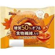 シルビア 糖質50%オフ&食物繊維入りメープルドーナツ 1個