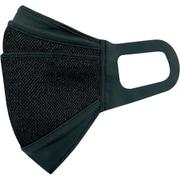 クレンゼ セパレートマスク スポーツタイプ Mサイズ ブラック 日本製 1枚入 MSK-21