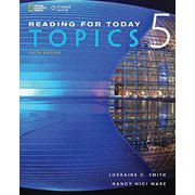 Reading for Today Series New Edition Level 5 Topics for Today 5th Edition Text [洋書ELT]