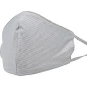 通気性抜群洗えるユアマスク 普通サイズ(約140mm×240mm) ライトグレー 2枚入