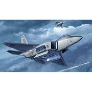 03858 1/72 エアクラフトシリーズ F-22A ラプター [組立式プラスチックモデル]