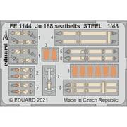 EDUFE1144 Ju188 シートベルト (ステンレス製) [1/48 スケール ディテールアップパーツ]