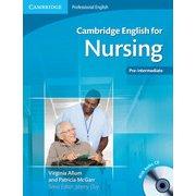 Cambridge English for Nursing Pre-intermediate Student's Book with Audio CD [洋書ELT]