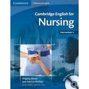 Cambridge English for Nursing Intermediate Plus Student's Book with Audio CDs [洋書ELT]