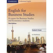 English for Business Studies 3rd Edition Student's Book [洋書ELT]