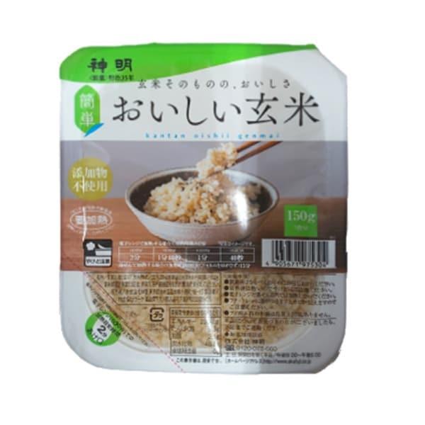 おいしい玄米ごはん 150g