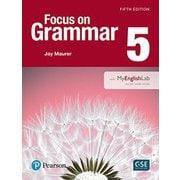 Focus on Grammar 5th Edition 5 Student Book withMyEnglishLab [洋書ELT]