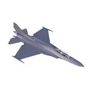 機動警察パトレイバー2 the Movie 1/144 F-16改 ナイト・ファルコン 限定版アクリルスタンド付き クリアブルー [組立式プラスチックモデル]