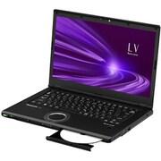 CF-LV9DDNQR [レッツノートLV9シリーズ 14.0型/Core i7-10710U/メモリ 16GB/SSD 512GB/Windows 10 Pro 64ビット/Microsoft Office Home & Business 2019/ブラック]