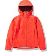 FLドリズルジャケット FL Drizzle Jacket NPW12114 フレアオレンジ(FL) Sサイズ [アウトドア ジャケット レディース]