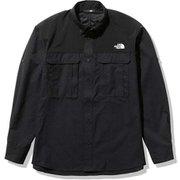 シーカーズシャツ Seekers' Shirt NR12101 ブラック(K) Sサイズ [アウトドア シャツ メンズ]