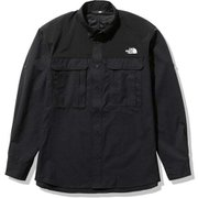 シーカーズシャツ Seekers' Shirt NR12101 ブラック(K) Mサイズ [アウトドア シャツ メンズ]