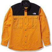 シーカーズシャツ Seekers' Shirt NR12101 ライトエグズベランスオレンジ(LX) Mサイズ [アウトドア シャツ メンズ]