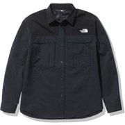 シーカーズシャツ Seekers' Shirt NRW12101 ブラック(K) Mサイズ [アウトドア シャツ レディース]