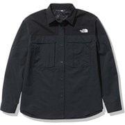 シーカーズシャツ Seekers' Shirt NRW12101 ブラック(K) Lサイズ [アウトドア シャツ レディース]
