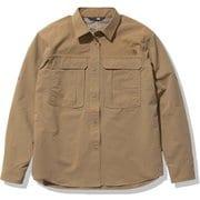 シーカーズシャツ Seekers' Shirt NRW12101 ユーティリティブラウン(UB) Mサイズ [アウトドア シャツ レディース]