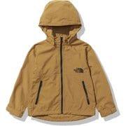 コンパクトジャケット Compact Jacket NPJ21810 ゴールデンブラウン(GB) 120サイズ [アウトドア ジャケット キッズ]