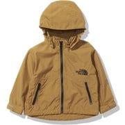コンパクトジャケット Compact Jacket NPB21810 ゴールデンブラウン(GB) 80サイズ [アウトドア ジャケット キッズ]