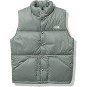 キャンプインサレーションベスト Camp Insulation Vest NY32130 アガベグリーン(AV) Sサイズ [アウトドア ベスト メンズ]