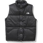 キャンプインサレーションベスト Camp Insulation Vest NY32130 ブラック(K) Mサイズ [アウトドア ベスト メンズ]
