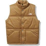 キャンプインサレーションベスト Camp Insulation Vest NY32130 ユーティリティブラウン(UB) Mサイズ [アウトドア ベスト メンズ]