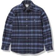 ロングスリーブストレッチフランネルシャツ L/S Stretch Flannel Shirt NRW62031 HI Sサイズ [アウトドア シャツ レディース]
