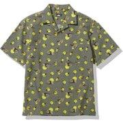 ショートスリーブクライミングサマーシャツ S/S Climbing Summer Shirt NR21931 (AS)アガベグリーンバレーサン XLサイズ [アウトドア シャツ メンズ]