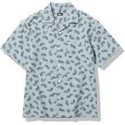 ショートスリーブクライミングサマーシャツ S/S Climbing Summer Shirt NR21931 (TS)トルマリンブルーセコイアスプリング Mサイズ [アウトドア シャツ メンズ]