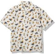 ショートスリーブクライミングサマーシャツ S/S Climbing Summer Shirt NR21931 (VV)ビンテージホワイトバレーサン XLサイズ [アウトドア シャツ メンズ]