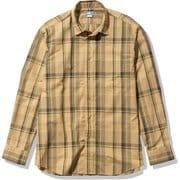 ロングスリーブ バハダネイチャーシャツ L/S Bajada Nature Shirt  NR11957 BE Mサイズ [アウトドア シャツ メンズ]