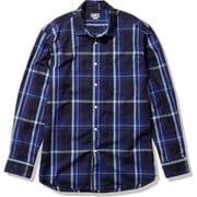 ロングスリーブ バハダネイチャーシャツ L/S Bajada Nature Shirt  NR11957 NV Sサイズ [アウトドア シャツ メンズ]