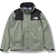 マウンテンレインテックスジャケット Mountain Raintex Jacket NP12135 アガベグリーン(AV) Sサイズ [アウトドア レインジャケット メンズ]