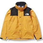 マウンテンレインテックスジャケット Mountain Raintex Jacket NP12135 ライトエグズベランスオレンジ(LX) Mサイズ [アウトドア ジャケット メンズ]