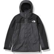 マウンテンライトデニムジャケット Mountain Light Denim Jacket NP12032 ナイロンブラックデニム(BD) Sサイズ [アウトドア ジャケット メンズ]