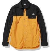 ロングスリーブヌプシシャツ L/S Nuptse Shirt NR11961 LX Mサイズ [アウトドア シャツ ユニセックス]