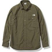 ロングスリーブヌプシシャツ L/S Nuptse Shirt NR11961 NW Mサイズ [アウトドア シャツ ユニセックス]