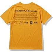 ショートスリーブヒストリカルロゴティー S/S Historical Logo Tee NT32159 ライトエグズベランスオレンジ(LX) Lサイズ [アウトドア カットソー メンズ]