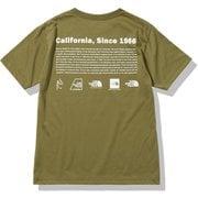 ショートスリーブヒストリカルロゴティー S/S Historical Logo Tee NT32159 ミリタリーオリーブ(MO) Mサイズ [アウトドア カットソー メンズ]