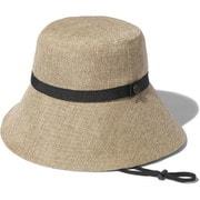 ハイクブルームハット HIKE Bloom Hat NN02131 ナチュラル(NA) Mサイズ [アウトドア 帽子]