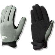 シンプルトレッカーズグローブ Simple Trekkers Glove NN12102 アガベグリーン(AV) Sサイズ [アウトドア グローブ]