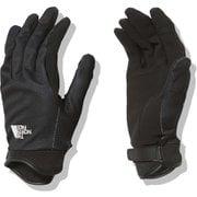 シンプルトレッカーズグローブ Simple Trekkers Glove NN12102 ブラック(K) XSサイズ [アウトドア グローブ]