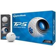 ゴルフボール TP5 2021年モデル ホワイト N0802601 [1ダース 12球入]