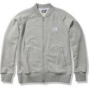 HHロゴスウェットトラックジャケット HH Logo Sweat Track Jacket HE32124 ミックスグレー(Z) WMサイズ [アウトドア スウェット レディース]