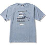 ショートスリーブホエールティー S/S Whale Tee HE62131 フェイデッドブルー(FA) WMサイズ [アウトドア カットソー レディース]