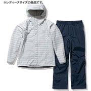 ボーダーヘリーレインスーツ Border Helly Rain Suit HOE12101 シルバー(SV) WLサイズ [アウトドア レインジャケット レディース]